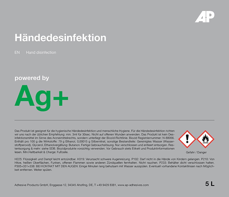 Ag+ Händedesinfektion
