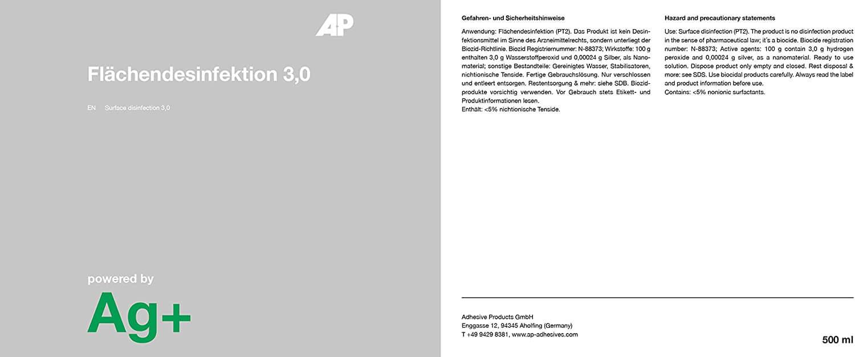 Ag+ Flächendesinfektion / Desinfektionsreiniger